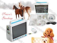 VET Patient Monitor,Portable Veterinary Monitor Multiparameter+ CO2,3Y warranty