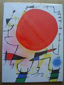 JOAN MIRO - Original  Lithograph - COA