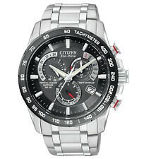 Citizen AT4008-51E Eco Drive Mens Perpetual Calendar Radio Controlled Watch