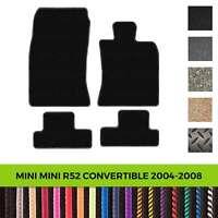 Custom Tailored Fit Car Mats, Mini R52 Convertible 2004-2008