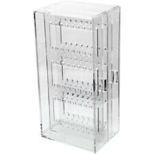 Clear Earring Drawer Organiser Stud Storage Display Stand Box Holder Jewellery