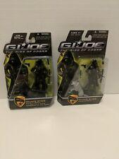 Gi Joe Rise Of Cobra Snake Eyes Lot Variant Included MSOC