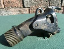 Antique 1916 Stearns Cast Iron Gas Gasoline Pump Nozzle Spout ~ Car Truck Oil