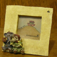 Boyds Mini Ark Animals Frame #4004 PACKY & DERMAH, NIB From Retail Store