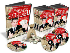 Profitable Affiliate Marketing Using Clickbank Paycheck Secrets Video Course