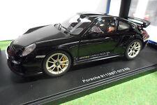 PORSCHE 911 997 GT2 RS Black Noir au 1/18 AUTOart 77962 voiture miniature