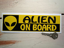 ALIEN ON BOARD BUFFO Paraurti Auto Adesivo Paul movie divertente novelty vinile decalcomania