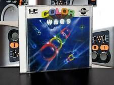 COLOR WARS GIOCO IN BUONO STATO PER PC ENGINE SUPER CD ROM 2 ED GIAPPONESE JM