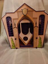 Monster High School Dolls Purple Portable Fold Up Playset 2011 Mattel Rooms