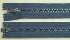 Opti fermeture éclair divisible dents décoratifs 83 cm bleu de Jeans