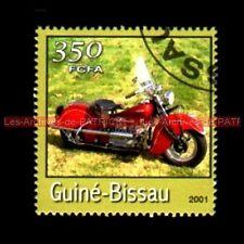 INDIAN Four 1941 Guiné BISSAU Guinée BISSAO Moto Timbre Poste Stempel Stamp