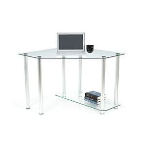 Chattanooga Glass Corner Desk