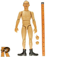 Moshe Dayan IDF - Nude Figure w/ Boots - 1/6 Scale - Hobby Master Action Figures