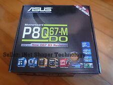 ASUS P8Q67-M DO/CSM Socket 1155 MotherBoard Q67 B3 Revision *BRAND NEW