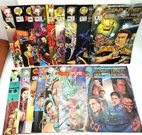 #1-16 STAR TREK DEEP SPACE 9 Malibu Comic Book Set of 16- VF/NM (CBSet-724)