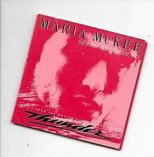 """MARIA McKEE - Show me heaven 3"""" Inch CD SINGLE 2TR (EPIC) Holland 1990"""