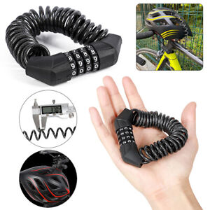 2m Long Steel Wire Padlock Chain Lock For Bike Bicycle Suitcase Cage Kennel Door