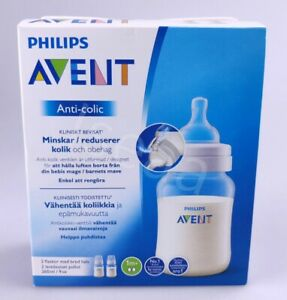 Philips Avent Babyflasche Baby Trinkflasche Anti Colic Flasche 2er Pack 260ml