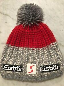 Eisbar Austrian Snow Ski Racing Winter Hat Pom-Pom - One Size