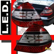 03-06 Mercedes Benz E Class W211 E350 E320 E55 LED Tail Lights Black Strip