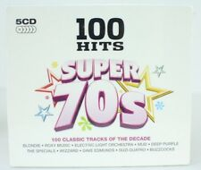 100 Hits Super 70s Various Artists Audio 5 CD NEW