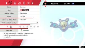 Shiny Reuniclus 6IV Max EV Competitive Pokemon Sword Shield Magic Guard Bold