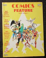 1981 Comics Feature Magazine #11 Fn+ 6.5 Gene Colan / Jack Kirby Returns