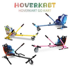 Fast Hoverkart Fits 6,8,10 inch Hoverboards Pink Blue Black Karts Available UK