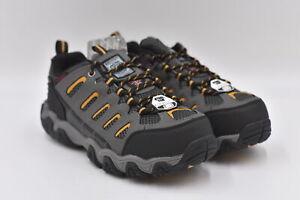 Men's Skechers For Work Blais Work Sneakers, Dark Grey, 11