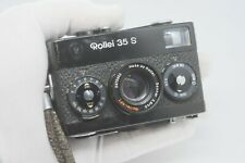 Rollei 35 S - Black - Good Condition -