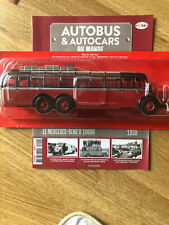 1/43 buses and coaches of the world # 04 mercedes benz o 10000 Germany 1938