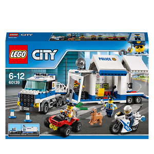 LEGO® City Police Mobile Command Center Truck Toy 60139