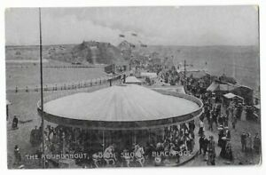 Blackpool South Shore Pleasure Beach Roundabout 1907
