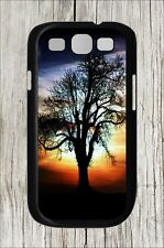 TREE OF LIFE AT SUNSET #9 FOR SAMSUNG GALAXY S3 CASE COVER -dfv6Z