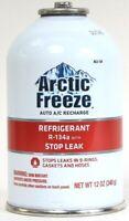 1 Ct Arctic Freeze 12 Oz Auto A/C Recharge Refrigerant R 134a With Stop Leak