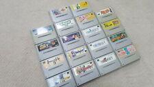 Super Famicom Video Games NTSC Dragon Fantasy Mana Densetsu Mario Donkey Puyo