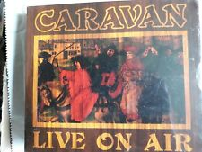 CARAVAN LIVE ON AIR CD NEW SEALED FREE UK POST NINE FEET UNDERGROUND FOR RICHARD