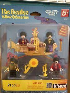 The Beatles Yellow Submarine K'NEX 48579 21 Pieces 5+ John Paul George Ringo