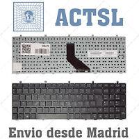 Teclado Español para Clevo W350 Black