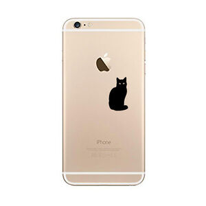 Cat Kitty Pussy cat Sticker Die Cut Decal for mobile cell phone Smartphone Decor