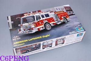 Trumpeter 02506 1/25 American LaFRANCE Eagle Fire Pumper Hot