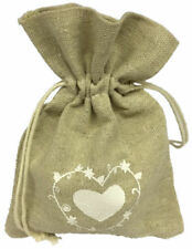 Hessian Wedding Favor Bags/Boxes