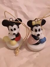 Disney Mini Ornament Mickey & Minnie porcelain figurine, out of production