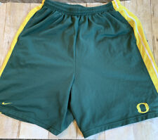 Vintage Nike Team University Of Oregon Ducks Shorts Mens Medium Green