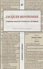 NEW Jacques Bonhomme (French Edition) by Frederic Bastiat
