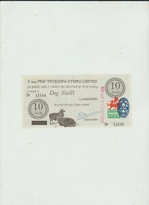 WALES  10  SWLLT  UNC