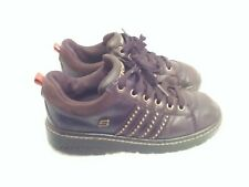 Skechers Vintage Brown Leather Sn45952 Lace Up Leather Shoes Women's Size 7.5