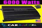 POWER ACUSTICA alta qualità 6000 Watt MONOBLOCCO AUDIO AUTO AMPLIFICATORE MONO