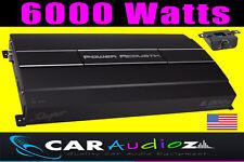 Potencia acústica de alta calidad 6000 Watts Clase D Monoblock coche amplificador de Audio Mono