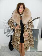 Pelzmantel Pelzjacke Leo Real Fur coat sable Pelliccia Visone Fourrure Mink Fox